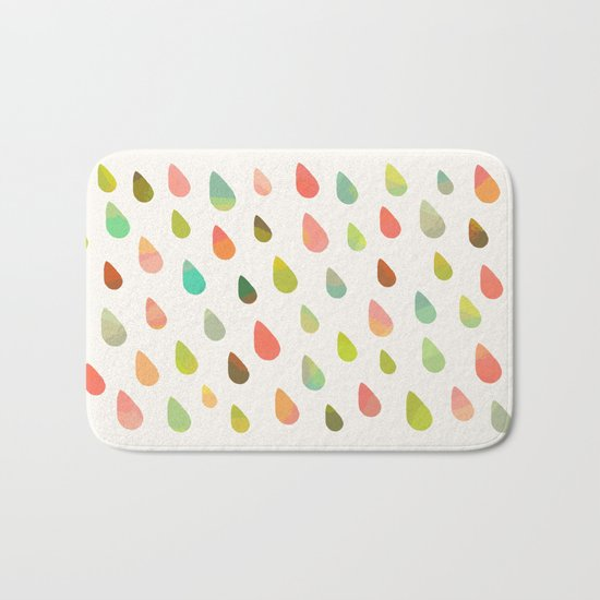 OPAL DROPS Bath Mat