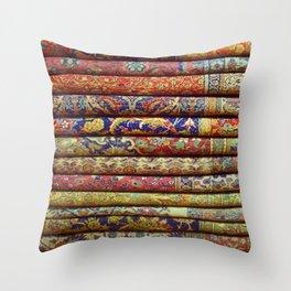 The Grand Bazaar Throw Pillow