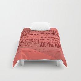 YOU DA ONE Comforters