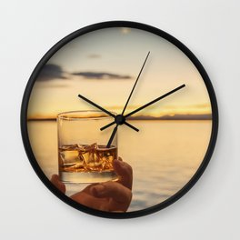 Cheers to the Sea Wall Clock