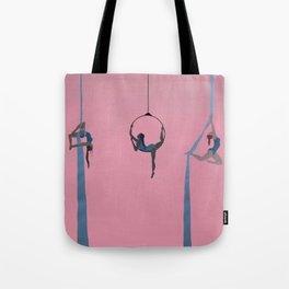 aerial dancing Tote Bag