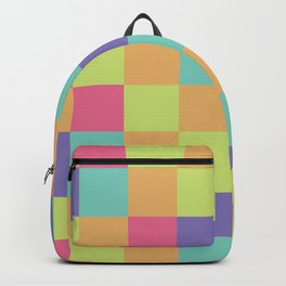 Kids abstract geometry pattern Backpack