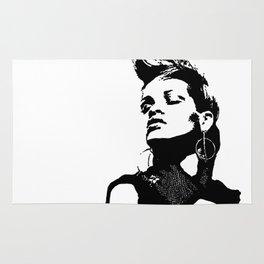 Rihanna. Rug
