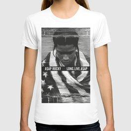 Asap Album Cover Rocky Poster Long Live T-shirt