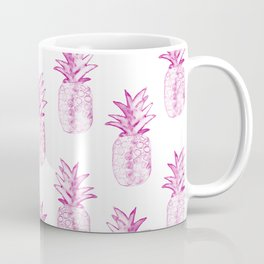 Pink Power Pineapple Coffee Mug