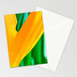 Strelitzia reginae (Green version) Stationery Cards