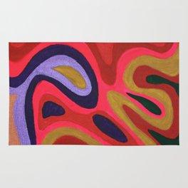 Colour composition Rug