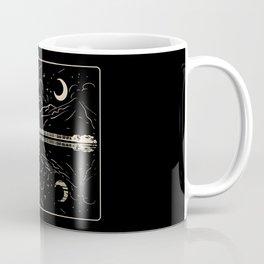 Guitar Lake Shadow Coffee Mug
