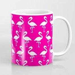 Hot Pink Flamingos Coffee Mug
