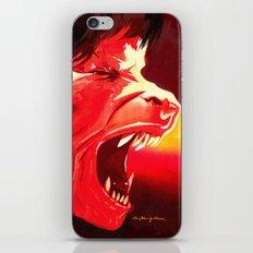 An Italian Werewolf In London iPhone & iPod Skin