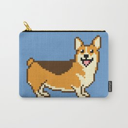 8-Bit Corgi Carry-All Pouch