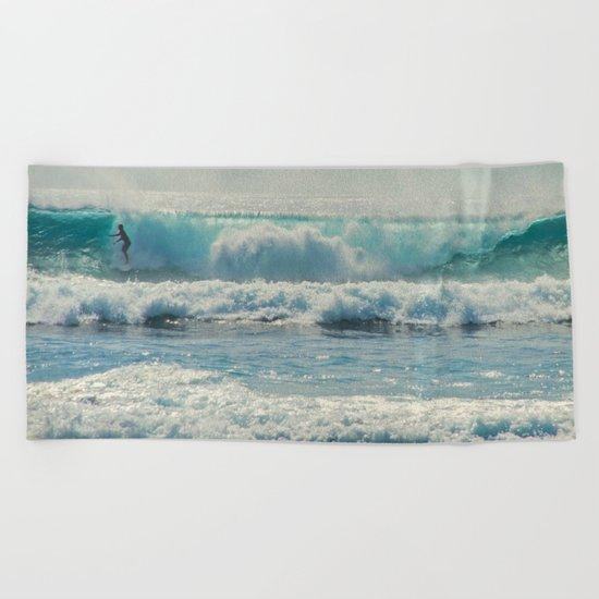 SURF-ACING Beach Towel