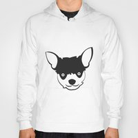 chihuahua Hoodies featuring Chihuahua by anabelledubois