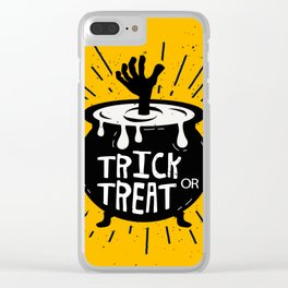 Trick Clear iPhone Case