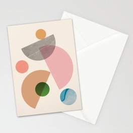 Abstraction_SHAPE_MODERNISM_MInimalism_001 Stationery Cards
