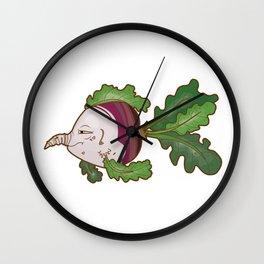 Turnip Wall Clock