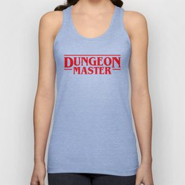 Dungeon Master DnD D&D Dungeons and Dragons Inspired Unisex Tank Top