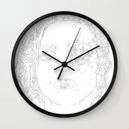 Crystal Castles (Black) Wall Clock