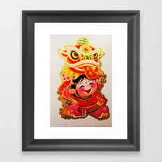 Chinese New Year 2013 Framed Art Print