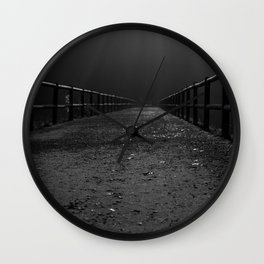Finding My Way Home Wall Clock