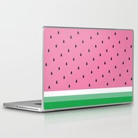 watermelon Laptop & iPad Skins featuring Watermelon by Anna Lindner