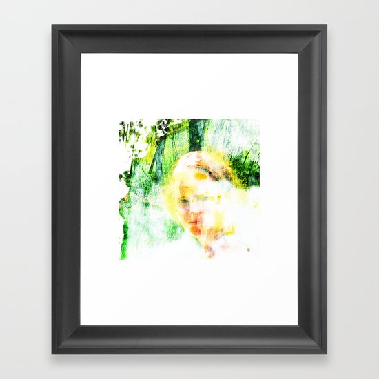 Miss. Sunshine  Framed Art Print