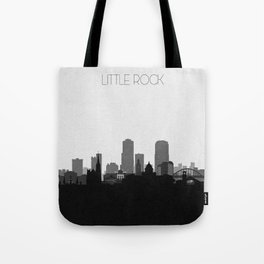 City Skylines: Little Rock Tote Bag