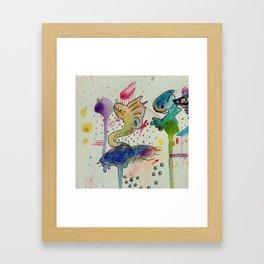 I See Creation Framed Art Print