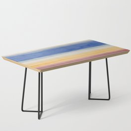 Colorbands Yellowstone Light Pink Coffee Table