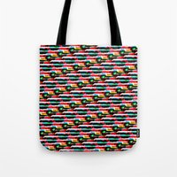 data Tote Bags featuring Data Bent by I'm Part of The Problem