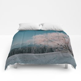 First light - Landscape and Nature Photography Comforters