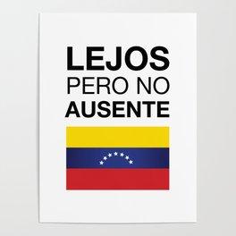 Far but not absent Poster