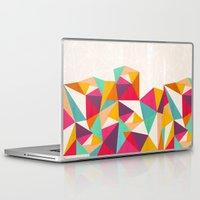 diamond Laptop & iPad Skins featuring Diamond by Kakel