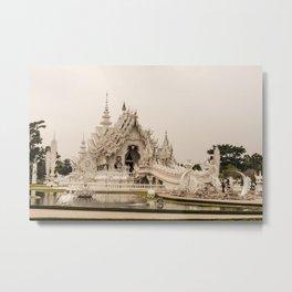 Wat Rong Khun Metal Print
