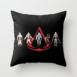 The Creed Throw Pillow