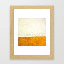 Goldness Framed Art Print