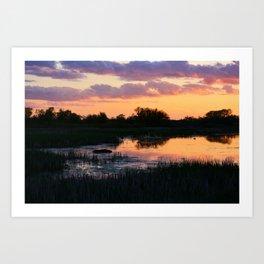 Perfect Pastel Spring Sunset Kunstdrucke
