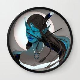 - Portrait of a fairy called Maya - Wall Clock