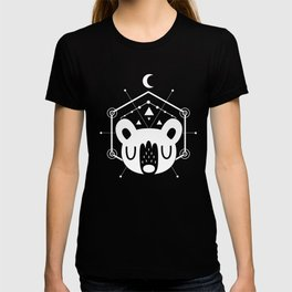 Moon Bear White T-shirt
