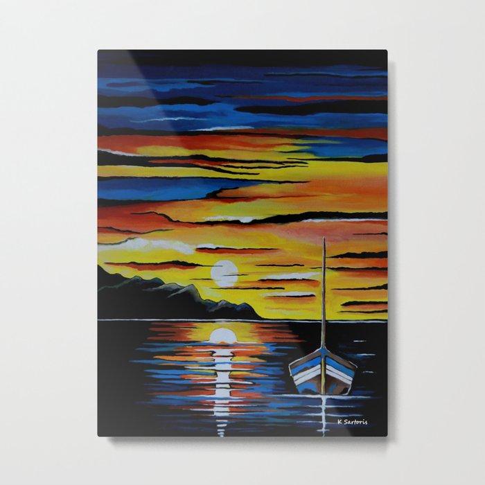 Escape To The Sea Metal Print