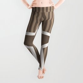 The Greatest Star! Coffee and Cream Leggings