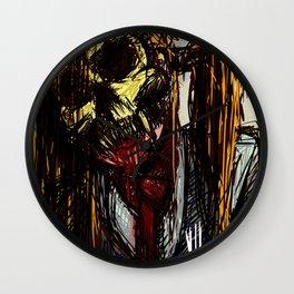 Ex mask Wall Clock