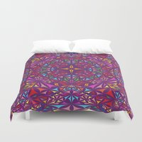 kaleidoscope Duvet Covers featuring Kaleidoscope by David Zydd
