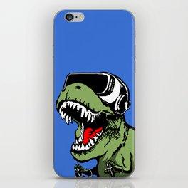 VR T-rex iPhone Skin