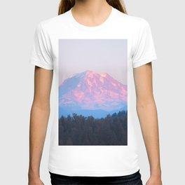 Mount Rainer Alpenglow T-shirt