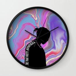 Pretty Flacko Wall Clock