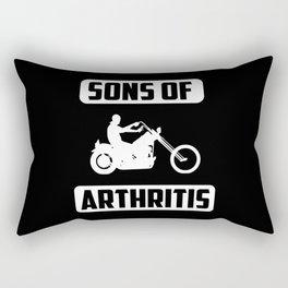 Sons of arthritis funny quote Rectangular Pillow