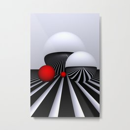 go red -2- Metal Print