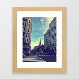 When Prayers Reach the Sky Framed Art Print