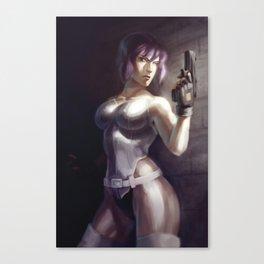 Ghost in the Shell - Motoko Kusanagi Canvas Print
